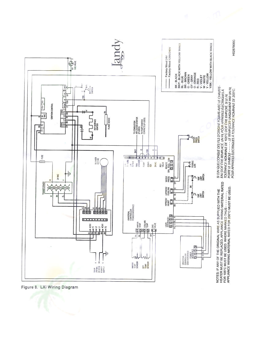 lxi heater hot surface ignitor jandy r0457500 free shipping rh bestpoolshop com Solar Panel Wiring Diagrams PDF Solar Panel Wiring Diagrams PDF