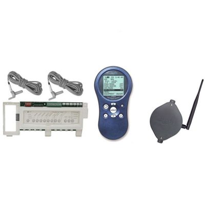 Spa Side Remote Jandy 4 Function 100 Ft Gray 8049 Free