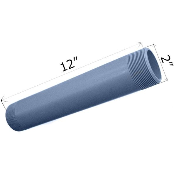 CMI 12 inch x 2 inch Threaded Nipple CPVC SCH 80 9220-120