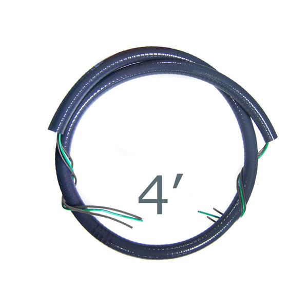 CMI 4 ft. 1/2 inch Whip Kit 220V 3-Wire WW1241-220 Free Shipping
