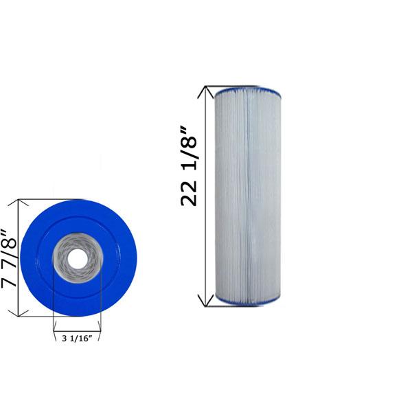 Cartridge Filter 100 Gpm Pac Fab 105 Gpm Wet Institute C