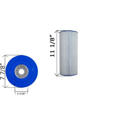 Cartridge Filter 50 GPM Pac-Fab C-7678