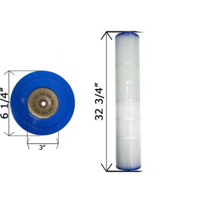 Cartridge Filter Pentair Quad D.E. 100 178656 C-6900