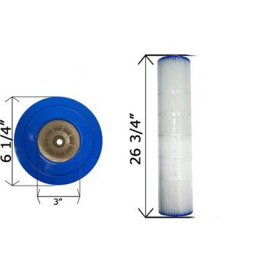 Cartridge Filter Pentair Quad D.E. 80 178655 C-6980