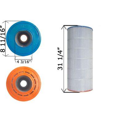 Cartridge Filter Sta-Rite 135TX 135GPM-TX 135TXR UHD-SR137