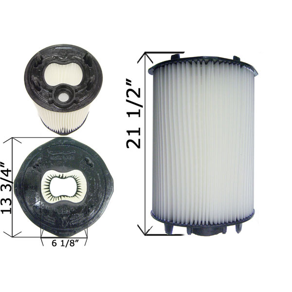 Cartridge Filter Sta Rite System 2 Plm100 100 Sq Ft