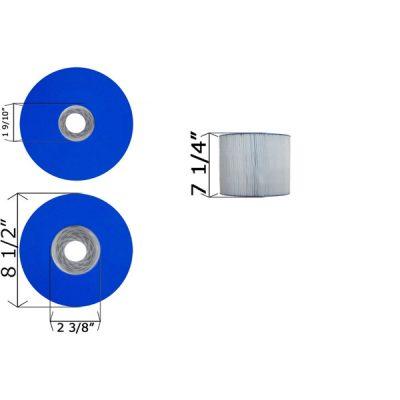 Cartridge Filter Vita Spa C-8350