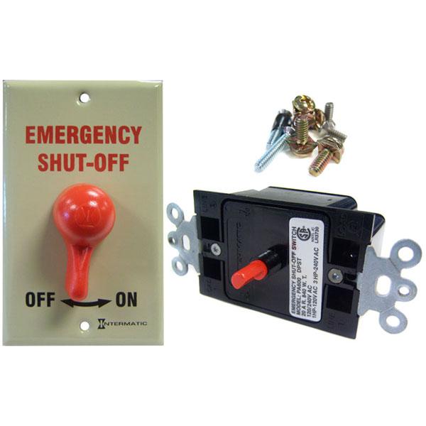 Intermatic 120v 220v Emergency Shut Off Switch Pa600