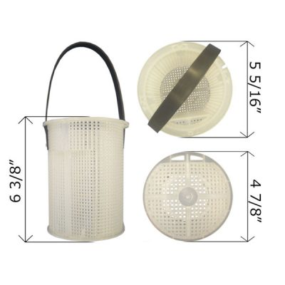 Aladdin Pentair Plastic Strainer Basket Challenger Pump 355318