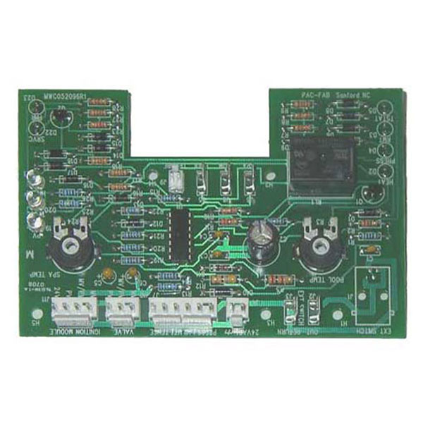 Pentair 470179 Electronic Thermostat Circuit Board Iid Model A