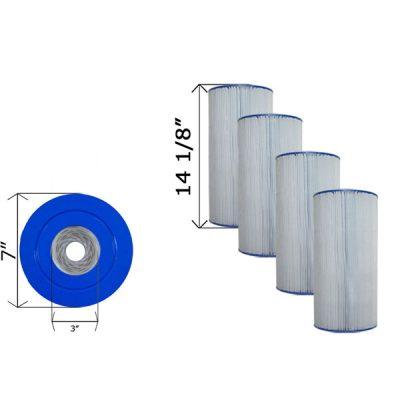 Quad Pack Cartridge Filter Clean & Clear C-7469-4