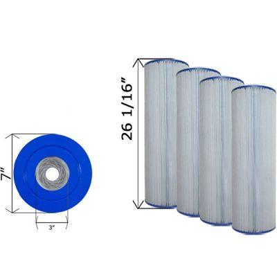 Quad Pack Cartridge Filter Clean & Clear C-7471-4