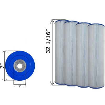 Quad Pack Cartridge Filter Clean & Clear C-7472-4