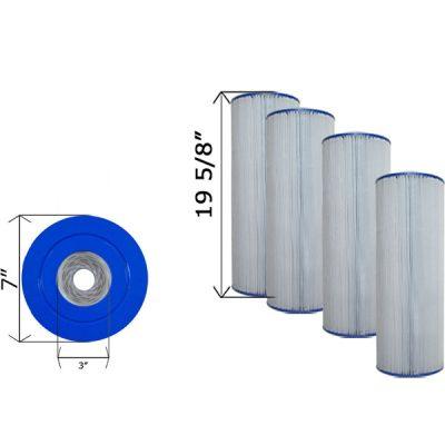 Quad Pack Cartridge Filter Hayward CX570RE C-7477-4