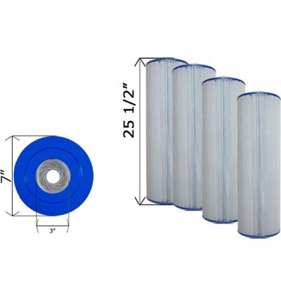 Quad Pack Cartridge Filter Hayward CX870RE C-7487-4