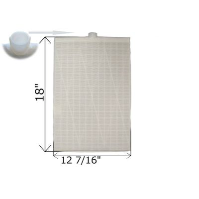 Rectangular DE Grid 18 in. x 12 7/16 in. FG-3012 FC-9830