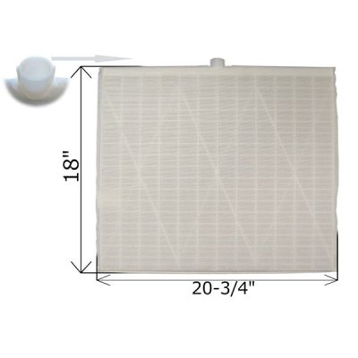Rectangular DE Grid 18 in. x 20 3/4 in. FG-3020 FC-9860