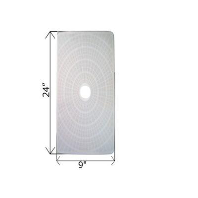Rectangular DE Grid 24 in. x 9 in. FG-2409 FC-9720