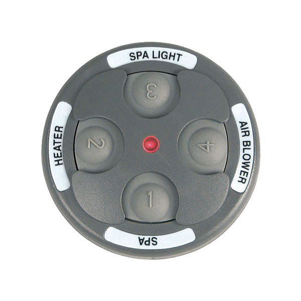 Spa Side Remote Jandy 4 Function 150 Ft Gray 8050 Free