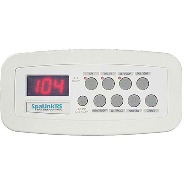 Spalink Rs Jandy 8 Function Spa Side Remote 150 Ft White