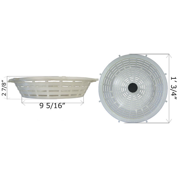 Val Pak Landon Skimmer Basket B40 V28600 Free Shipping
