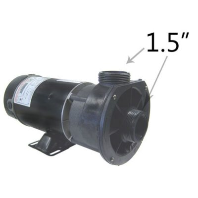 Waterway 1 Speed 1.0 HP 115V Spa Pump 3410410-15