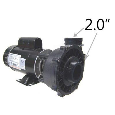 Waterway 1 Speed 2.0 HP 115V 230V Spa Pump 3410830-1A