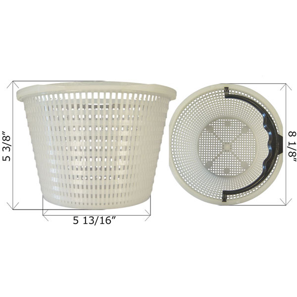 Waterway Skimmer Basket 5193240 Free Shipping