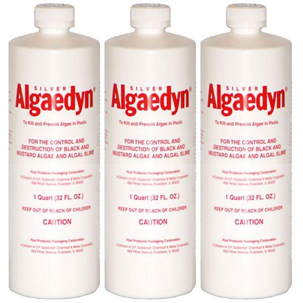 Algaedyn Silver Algea Remover Algaecide 32 oz. 47-600 - 3 Pack