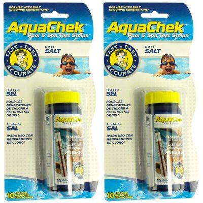 AquaChek White Salt Titrators Pool & Spa Test Strips 561140A - 2 Pack