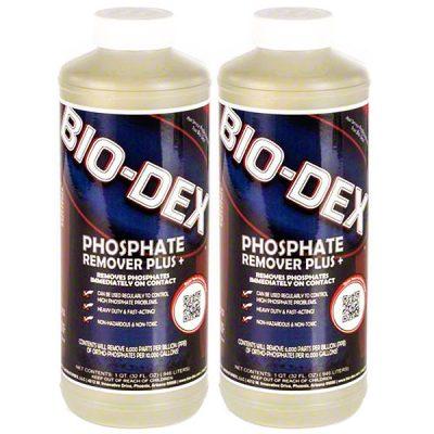 Bio-Dex Phosphate Remover Plus PHOS+QT - 2 Pack