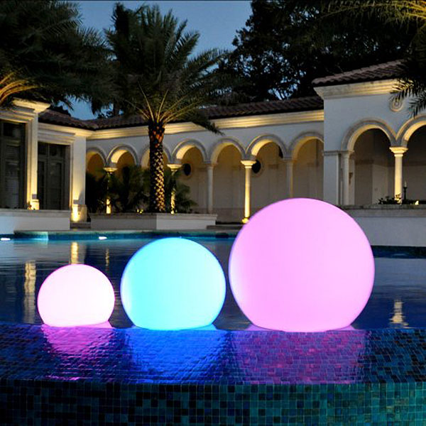ChillLite Balloon Swimming Pool Patio LED Light Wireless 75 BAL R13131