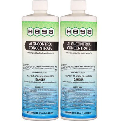 Hasa Algi Control Concentrate Green Algaecide 32oz. 72121 - 2 Pack