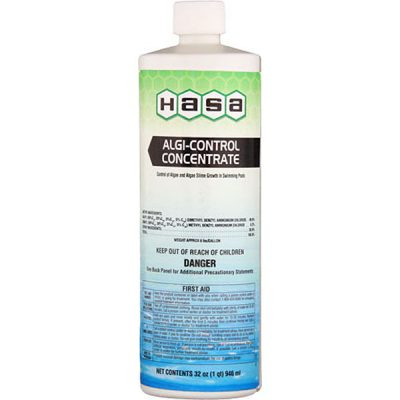 Hasa Algi Control Concentrate Yellow/Green Algae Algaecide  32oz. 72121