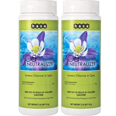 Hasa Hi-Temp Spa Chlorine Neutralizer 81412 - 2 Pack