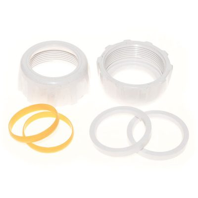 Hayward Salt Swim Plumbing Nuts Ring and Collar 1.5 in. GLX-DIY-CCN15