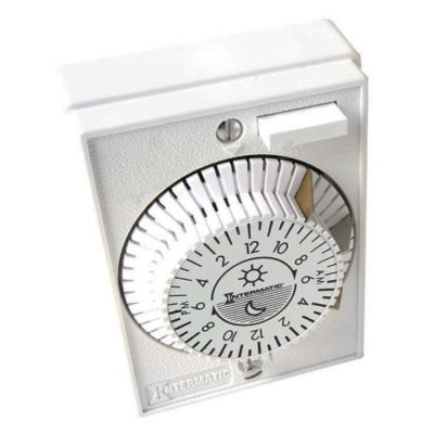 Intermatic Heavy-Duty Mechanical In-Wall Timer 15 A E1020