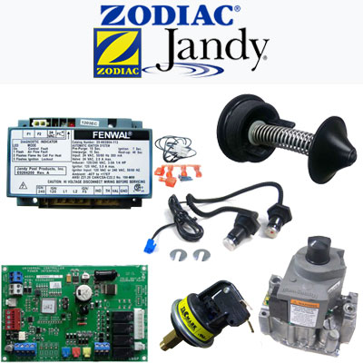 Jandy & Teledyne Laars Heater Parts