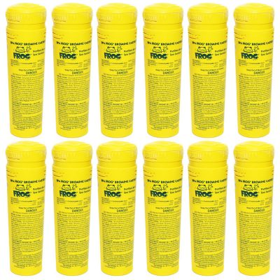 King Technology Spa Frog Bromine Cartridge 01-14-3824 - 12 Pack