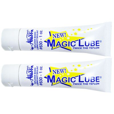 Magic Lube 1 oz. Teflon Based Lubricant Sealant Aladdin 630 - 2 Pack