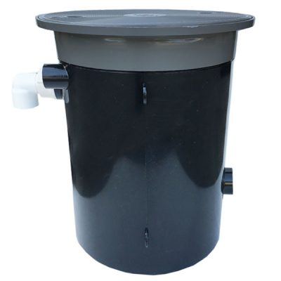 MP Industries Automatic Swimming Pool Water Leveler Dark Gray 1953-JDG