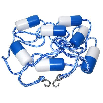 Pool Rope Blue Devil 18 ft. with Floats B8484