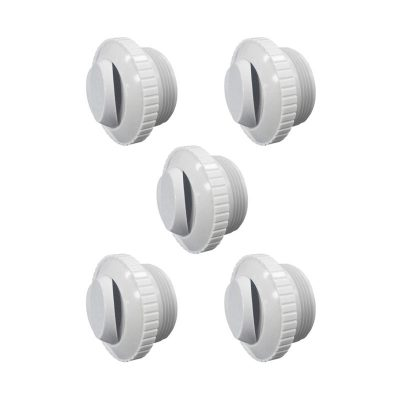 Pooline 1.5 in. Thread Slotted Hydrostream Jet 11211E - 5 Pack
