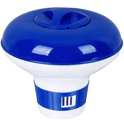 Pooline 3 in. Pool Chlorine Tablet Feeder Floater Dispenser 11027