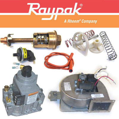 Raypak & Rheem Heaters Parts