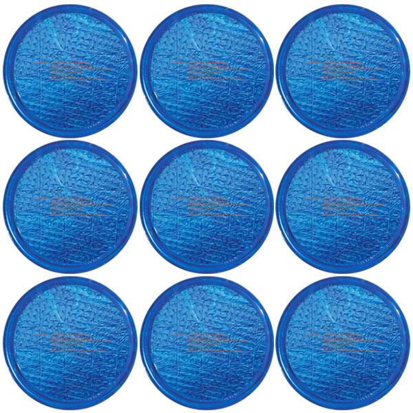 Solar Sun Rings Plain Blue Water Anchors 5ft. OD SSRA-101 - 12 Pack