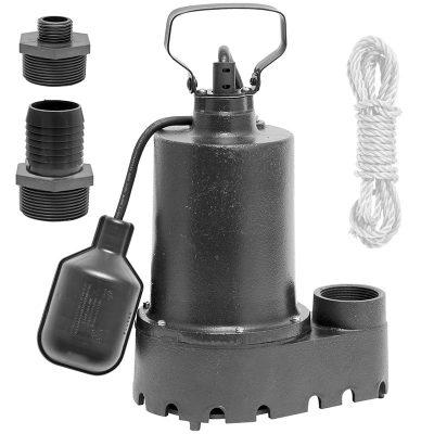 Superior 1/3 HP Submersible Pool Water Drain Pump 92339