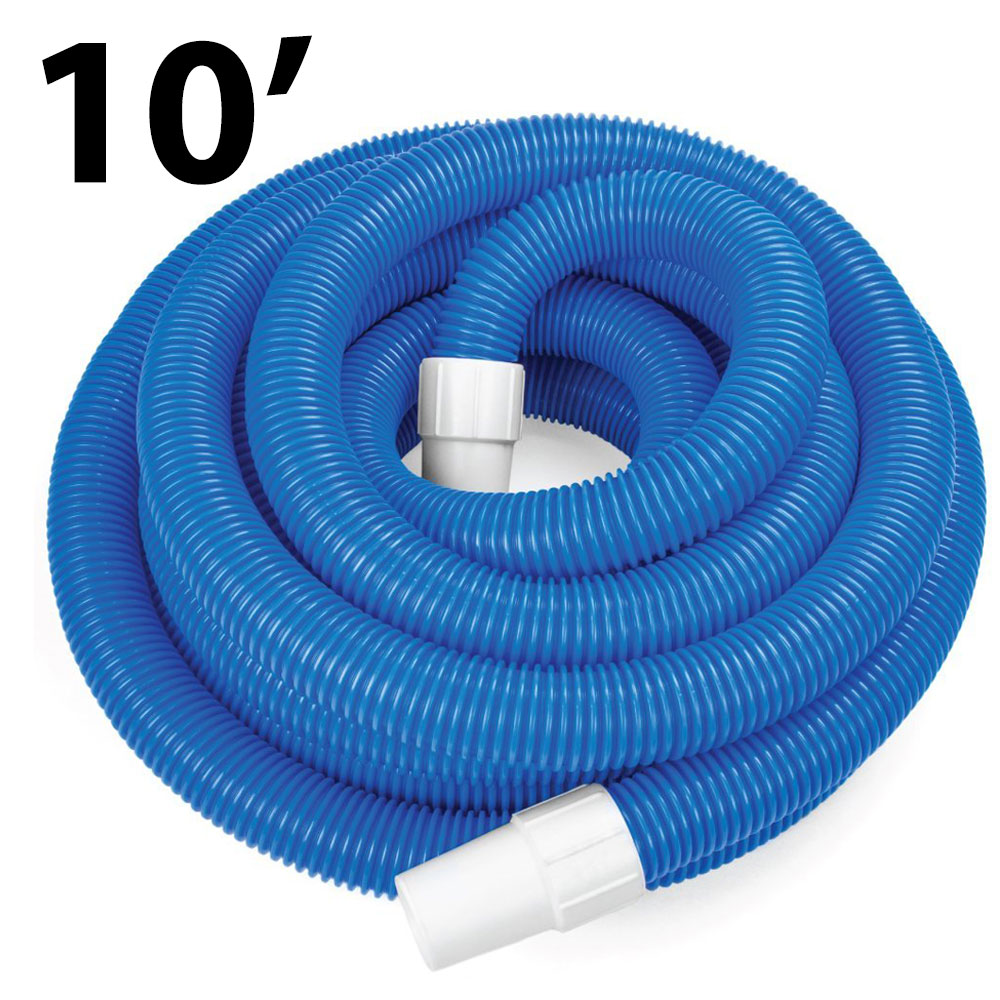Swimming Pool 10ft Manual Vacuum Hose With Swivel Cuff