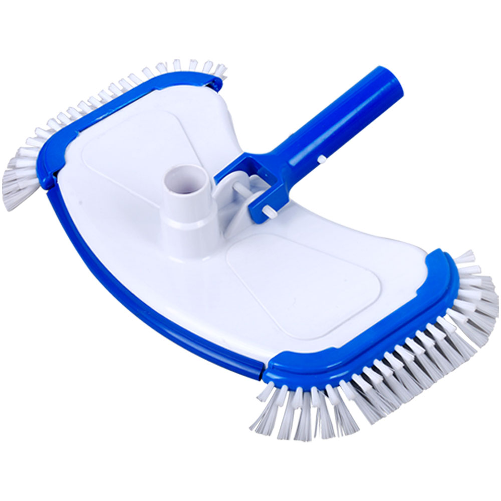 Swimming Pool Large White Abs Side Brush Vacuum Head 11108