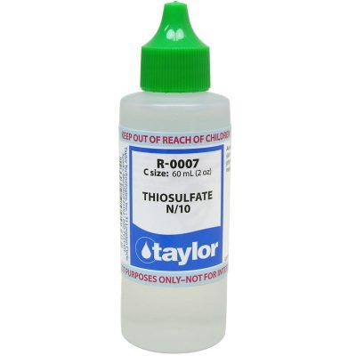 Taylor Dropper Bottle 2 oz Thiosulfate N/10 R-0007-C